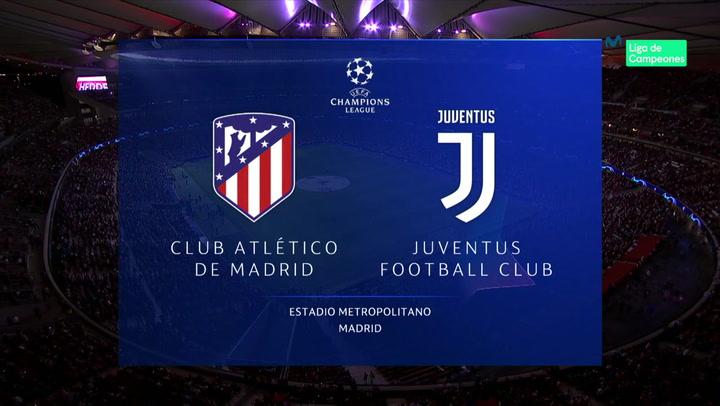 Champions League: Resumen y Goles del Partido Atlético Madrid - Juventus