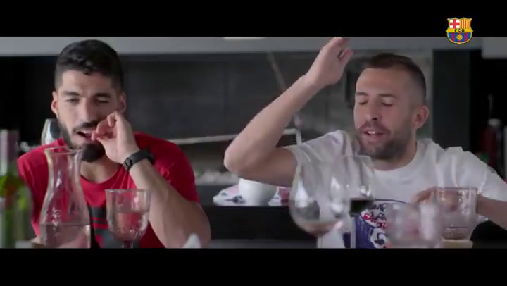 Comida en casa de Luis Suárez, nuevo secreto de 'Match Day'