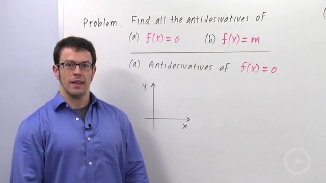 Antidifferentiation - Problem 1