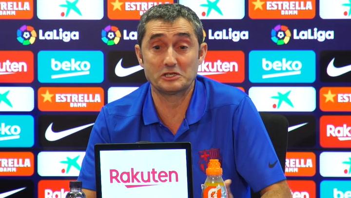 Valverde habla sobre Messi y sus declaraciones