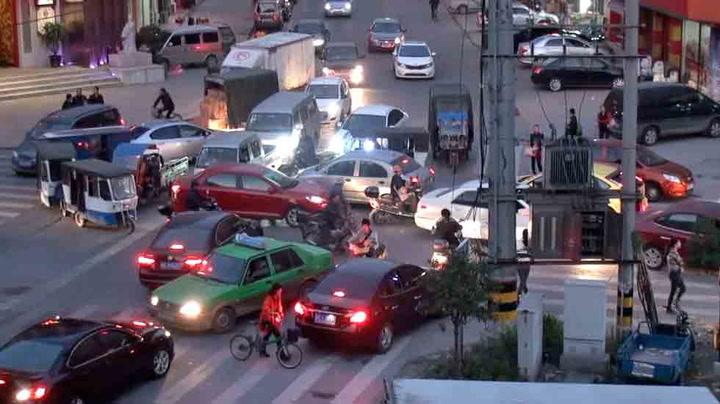 Dette er trafikkrysset fra helvete