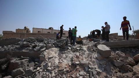 Una decena de civiles muertos en bombardeos en Siria, entre ellos una mujer y seis hijos