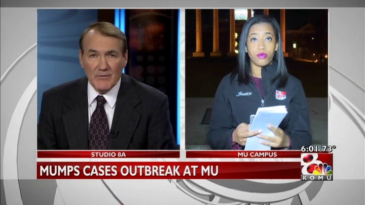 Mumps cases up to 31 on MU\'s campus