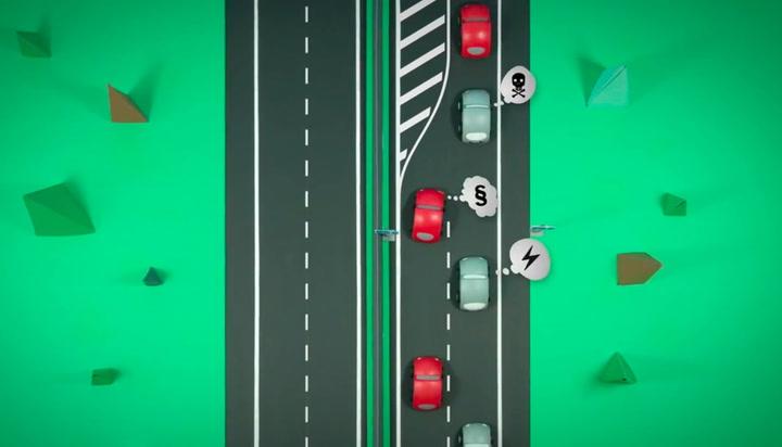 En gang for alle: Slik skal du flette i trafikken!