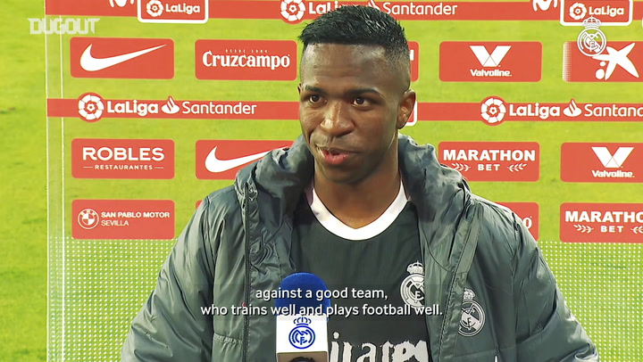 Vinicius Jr.: 'Winning is always important'