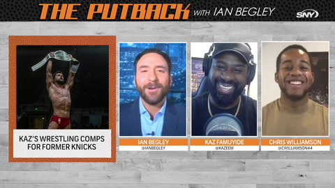 The Putback with Ian Begley: Kaz compares former Knicks stars to current wrestlers