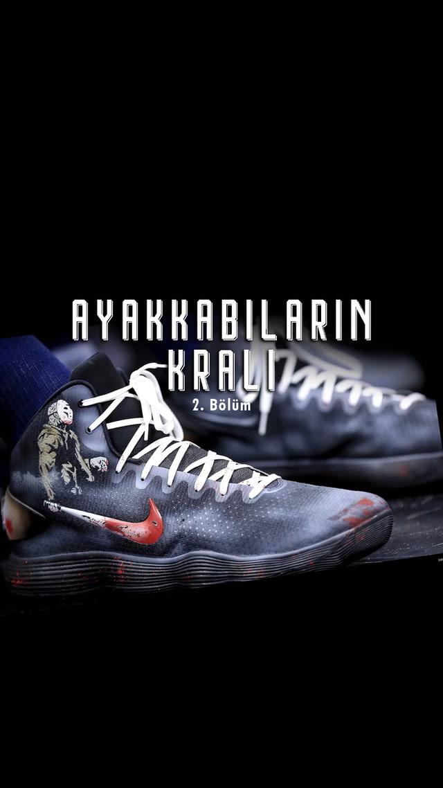 Bir tuval olarak NBA spor ayakkabıları