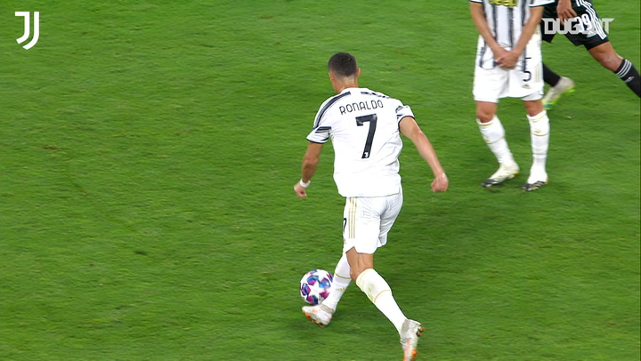 Cristiano Ronaldo's incredible strike against Lyon