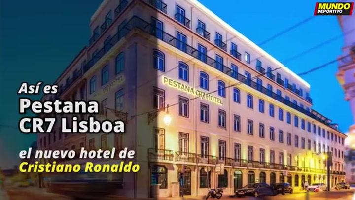 Así será el nuevo hotel de Cristiano Ronaldo
