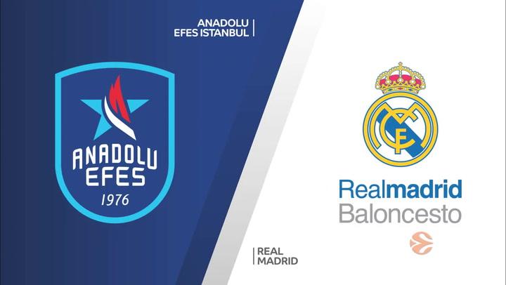 Euroliga: Anadolu Efes Istanbul - Real Madrid