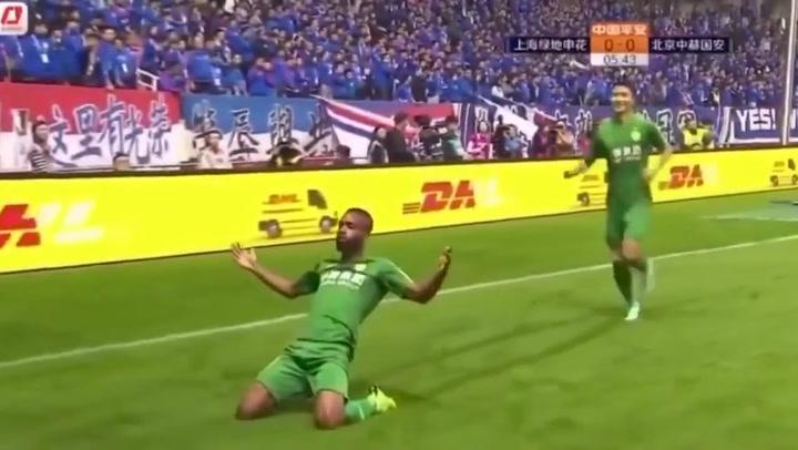 Mira lo mejor de Bakambu en la Liga China en 2019