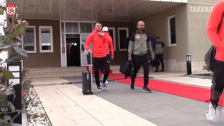 Behind The Scenes: Sivasspor's Trip to Besiktas