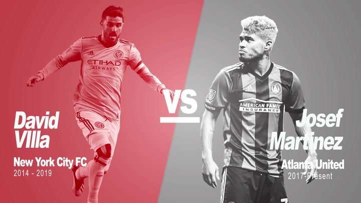 Past Vs Present: David Villa Vs Josef Martinez