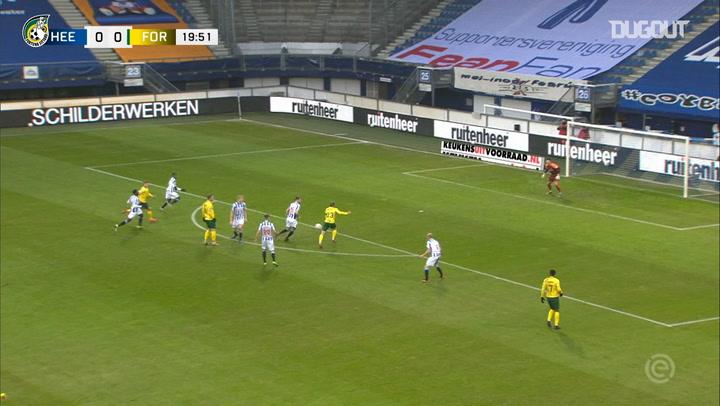 Fortuna score three first-half goals to defeat Heerenveen