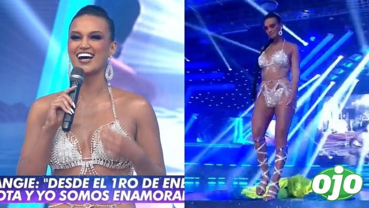 """""""Esto es guerra"""": Angie Arizaga vuelve al reality y deja en shock con 'infartante' vestuario │VIDEO"""