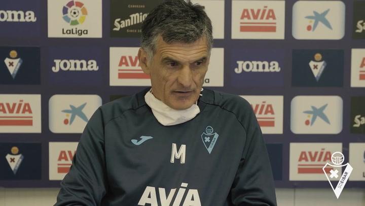 """Mendilibar: """"Espero que también sea una sorpresa para el Real Madrid"""""""