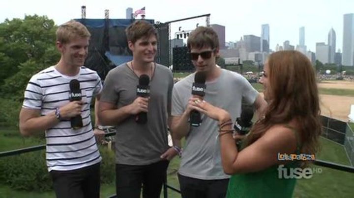 Festivals:Lollapalooza: Foster the People Explore the Fountain of Youth - Lollapalooza 2011