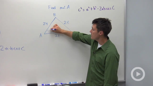 The Law of Cosines - Problem 2