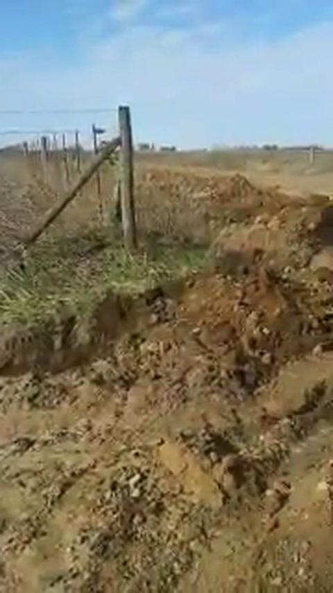 La Provincia clausuró otro canal clandestino que desagotaba en la laguna Melincué