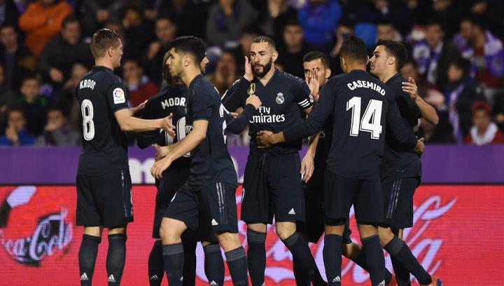 LaLiga: Resumen y Goles del Partido Valladolid (1) - (4) Real Madrid del 10/03/2019