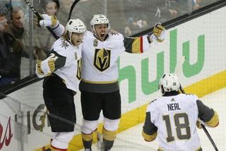 Golden Edge: Knights Bounce Back In OT Win Against Sharks