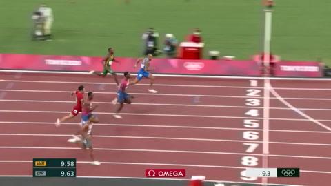 El italiano Lamont Marcell Jacobs sucede a Bolt en 100 metros
