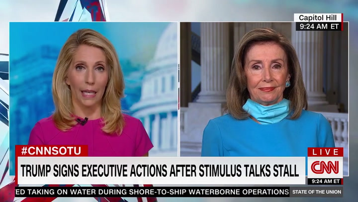 Pelosi: Trump's Executive Orders Are 'Absurdly Unconstitutional'
