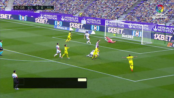 Gol de Gerard Moreno (0-1) en el Valladolid 0-2 Villarreal