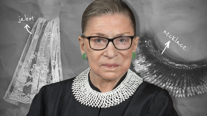 Supreme Court Style: Inside the Legacy of Ruth Bader Ginsburg's Collars