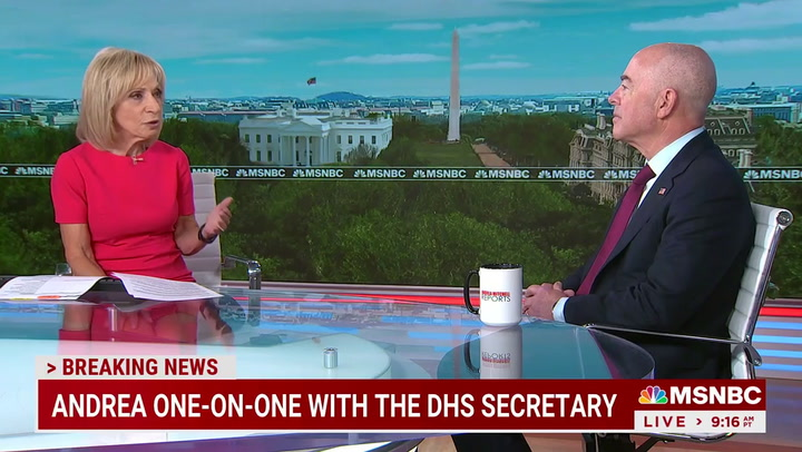 DHS Mayorkas: Border Crisis a 'Challenge' Because Trump 'Dismantled' Our System