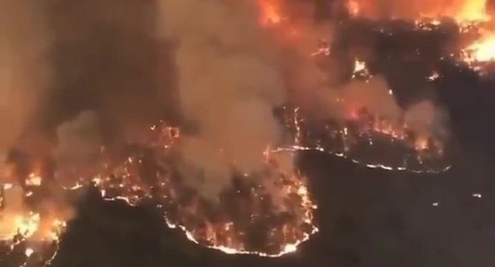 Los incendios están castigando con virulencia varias zonas de Australia