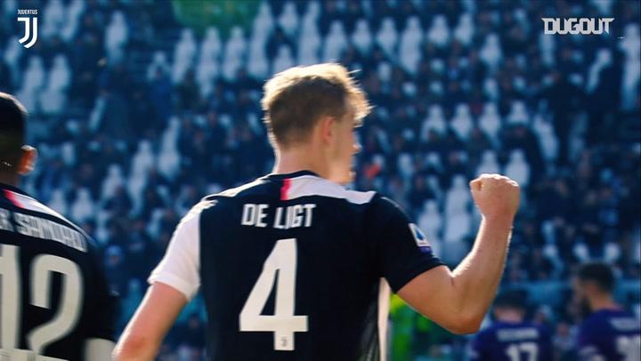 Matthijs de Ligt'in 2019-20 Sezonunda Yaptığı En İyi Müdahaleler