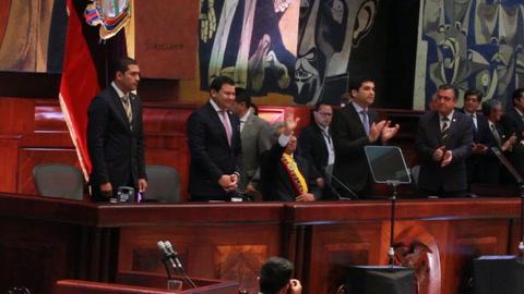 Ecuador estudia imponer una visa humanitaria a venezolanos ante aumento de inmigrantes