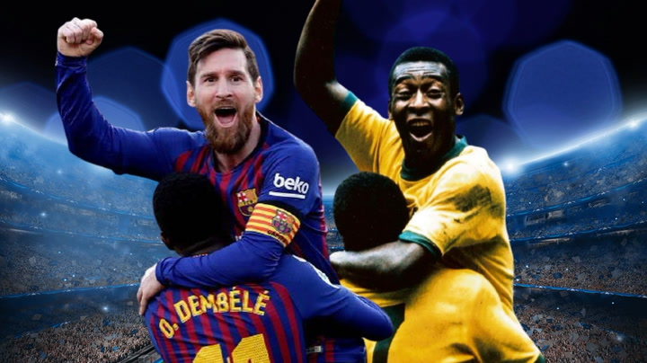 Los cracks a los que ha superado Messi con sus goles