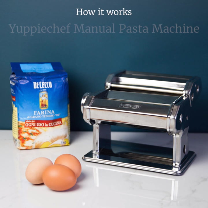 Preview image of Yuppiechef Pasta Machine How It Works video