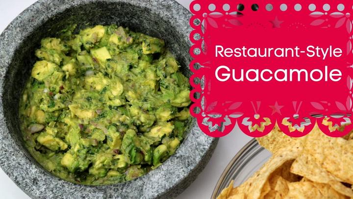 Restaurant-Style Guacamole