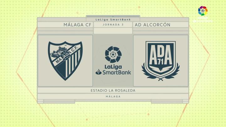 LaLiga SmartBank (J.3): Málaga 1-0 Alcorcón
