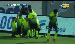 ¡Real de Minas le empata a Olimpoa con gol de Jessé Moncada!