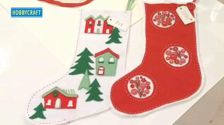 watch the video - How To Make A Christmas Stocking