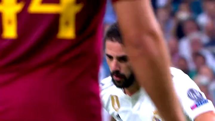 El Real Madrid y la Roma se enfrentan en un amistoso de pretemporada
