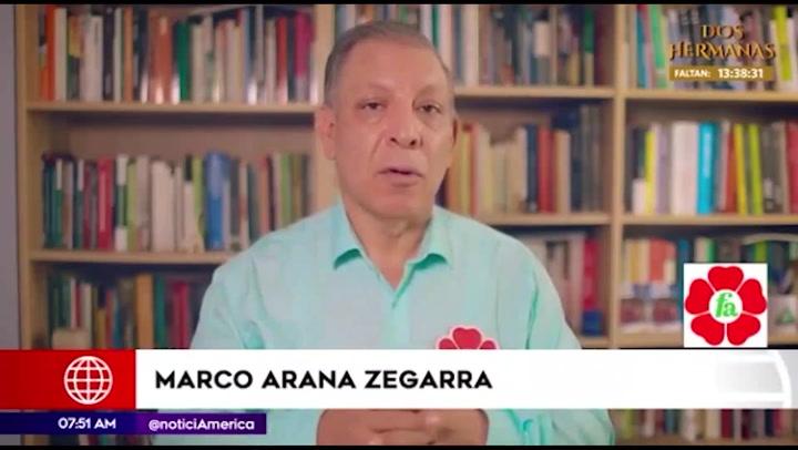 """Marco Arana: """"Necesitamos una nueva Constitución"""""""