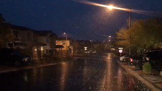February 20 snow in Centennial Hills (Part 2)