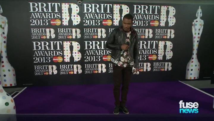 Frank Ocean: Winning a BRIT Award Is Like Skydiving