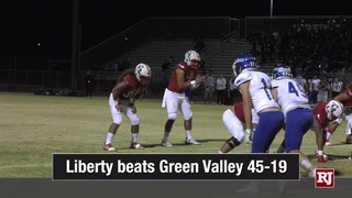 Nevada Preps: Liberty Wins Homecoming Game