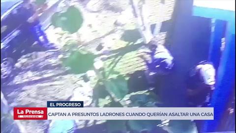 Captan a presuntos ladrones cuando querían asaltar una casa en El Progreso, Yoro