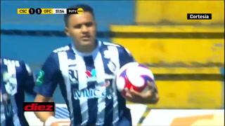 Así fue el primer gol de Roger Rojas con la camisa del Cartaginés en Costa Rica.