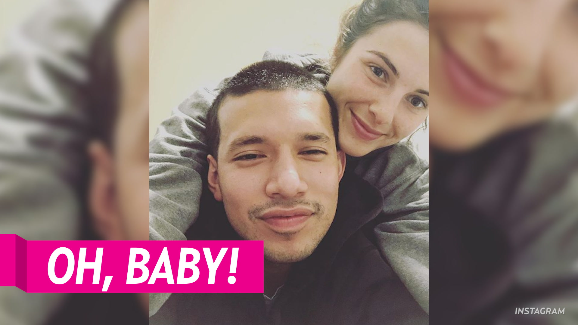 c6bb47a33 Javi Marroquin's GF Lauren Comeau Is Pregnant With Their First Child