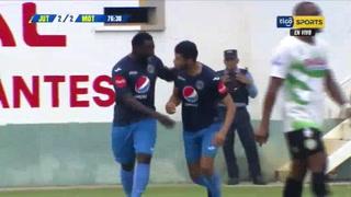 ¡Gol de Motagua! Marcelo Pereira hace el 2-2 ante Juticalpa