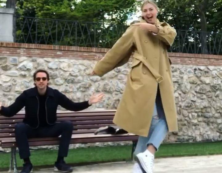 Maria Sharapova se compromete con Alex Gilkes