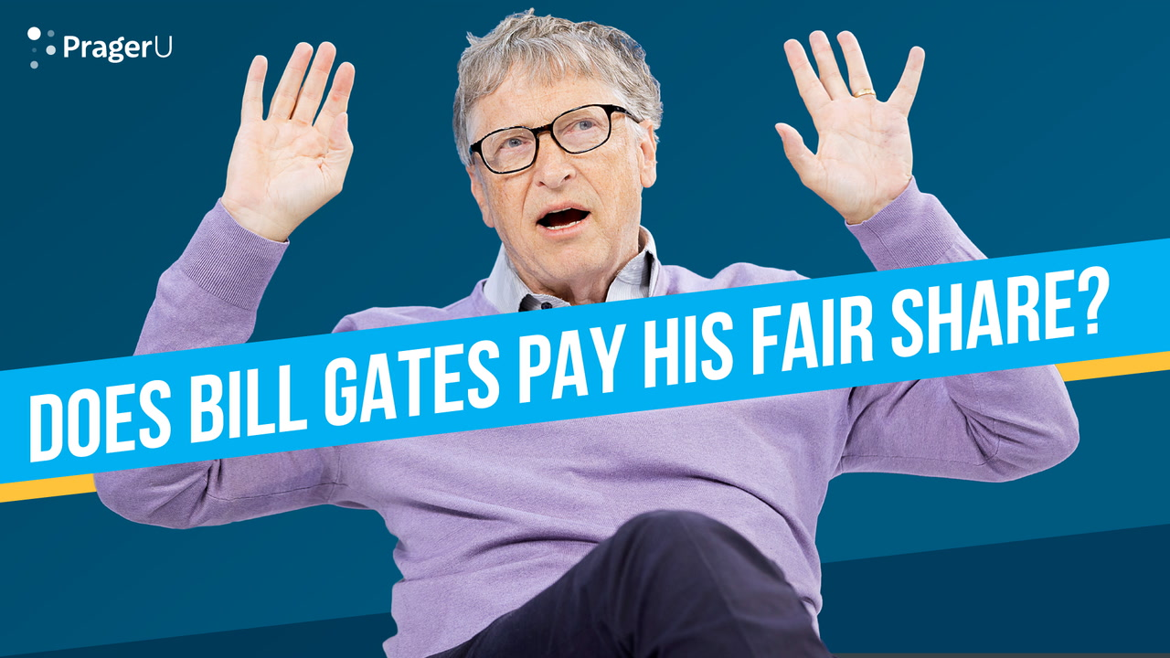 Does Bill Gates Pay His Fair Share?
